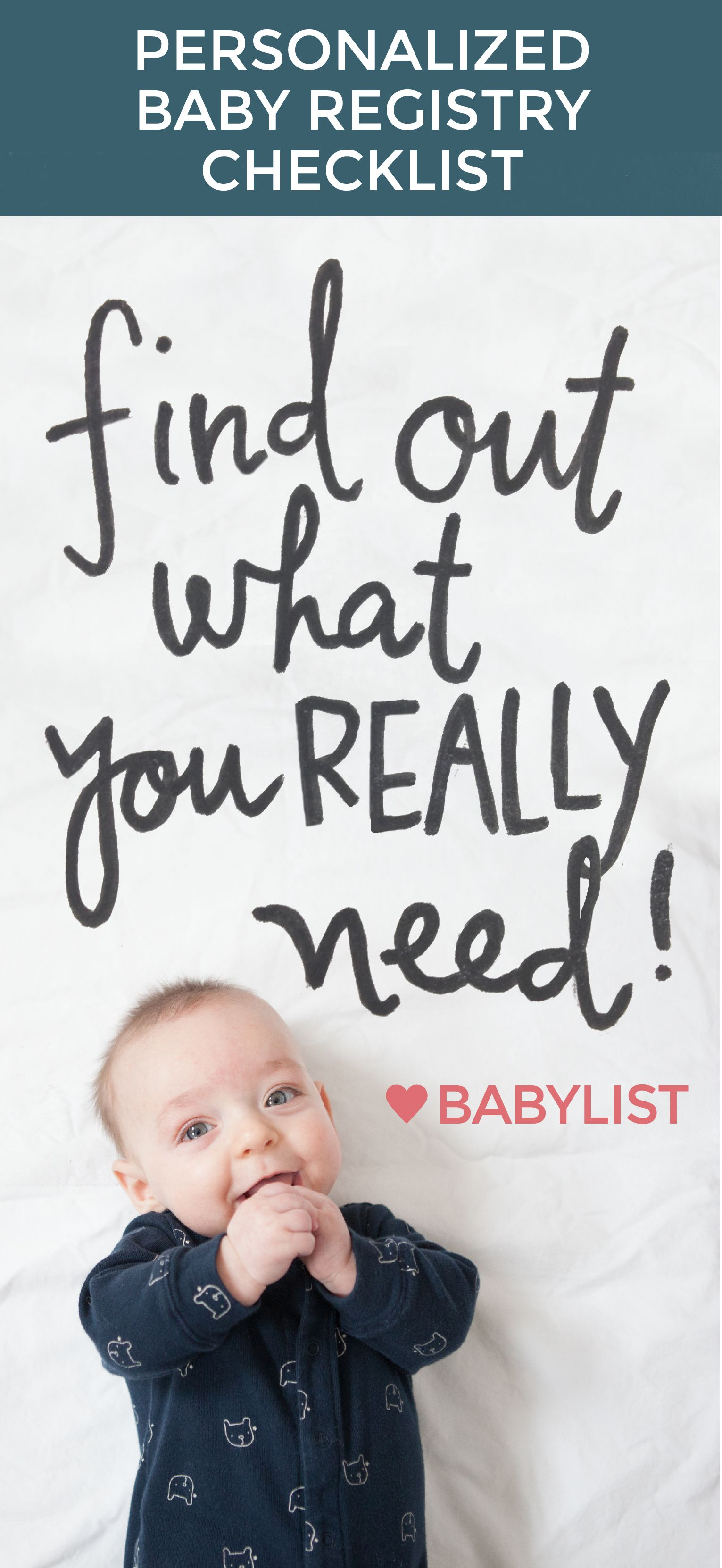 Get a personalized baby checklist with short quiz about ...