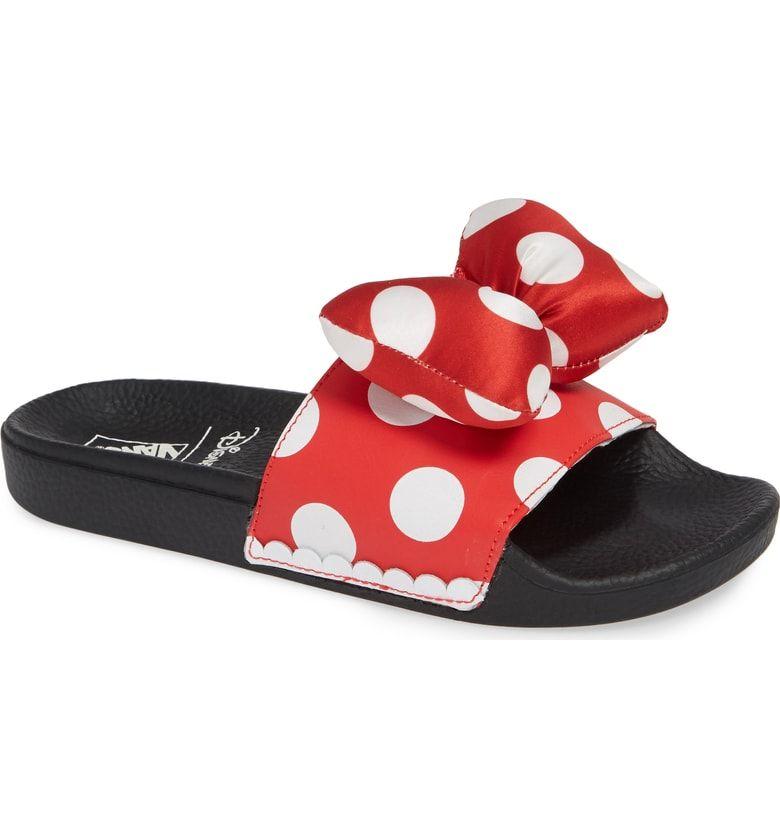 Vans x Disney Minnie Mouse Slide Sandal