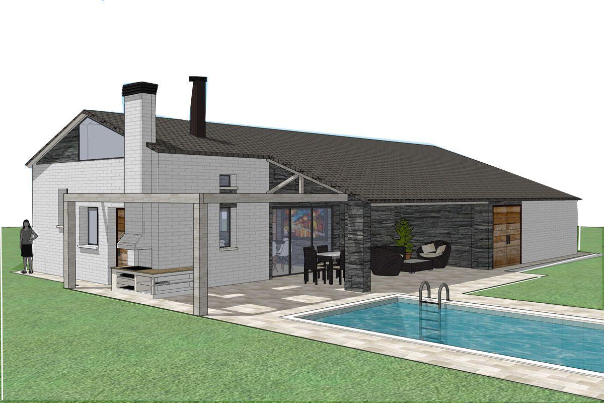 Casa mirasierra vivienda unifamiliar en sierra de madrid proyecto por aima arquitectos arq - Casas en mirasierra madrid ...