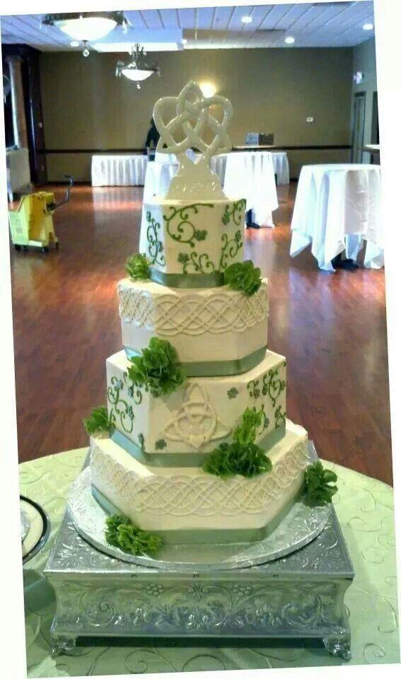 Irish Celtic Knot Wedding Cake Cakes By Sweet Grace Annas