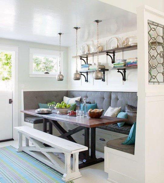 Top 50 Best Breakfast Nook Ideas - Kitchen Gathering Spots