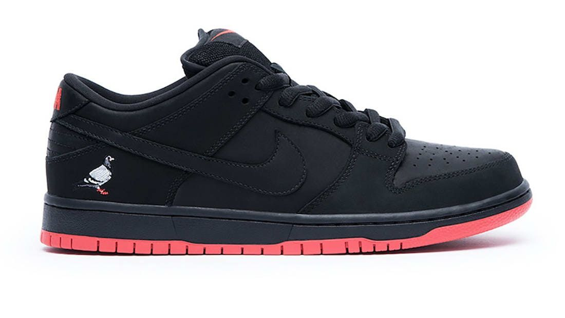 842183f9 Nike SB Dunk Low Black Pigeon in 2019 | Sapashoes | Nike sb dunks ...