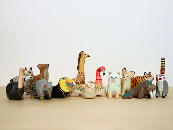 I WANT IT!!! walrus totem  legacy series by HandyMaiden on Etsy, $42.00