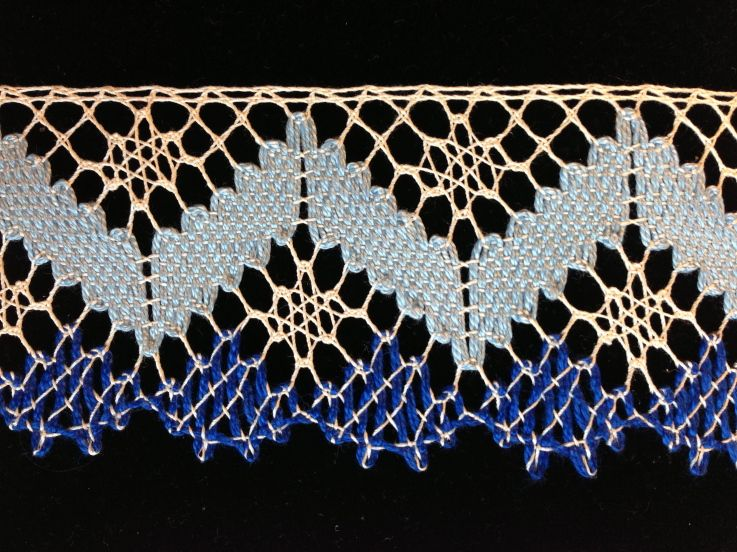 Spania Dolina bobbin lace by Dagmar Beckel-Machickova