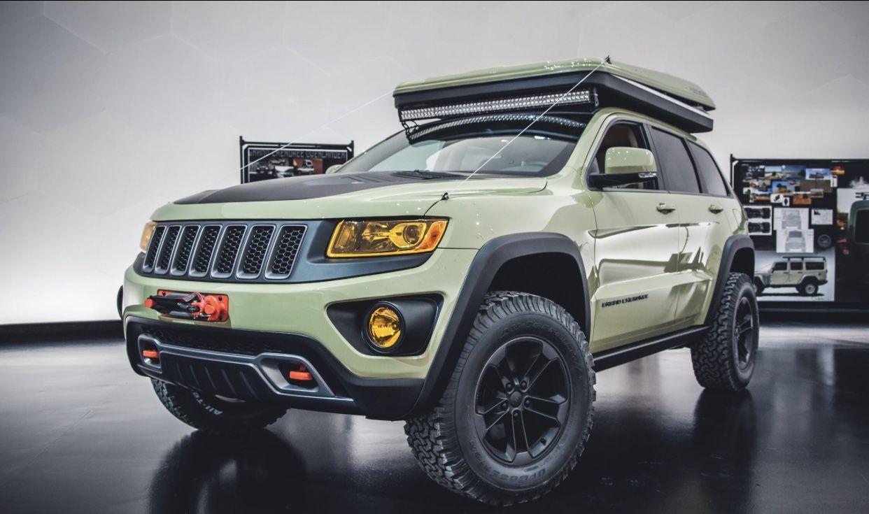 Jeep Concepts Grand Cherokee Jeep Grand Cherokee Jeep Concept Grand Cherokee Overland