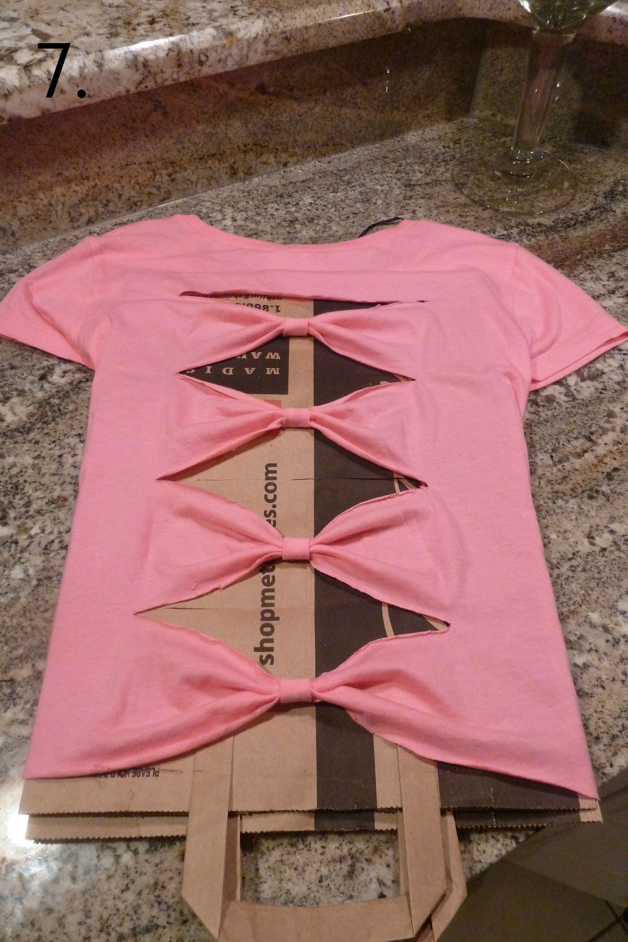 How To Make A Bow Back Shirt Diy fashion, Diy clothes