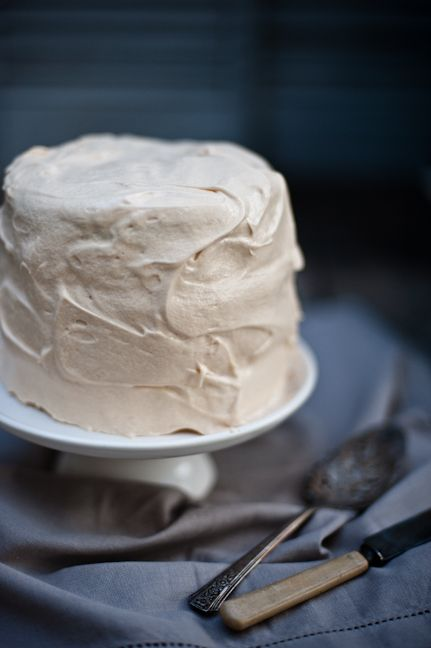 chocolate cake with {salted caramel} frosting