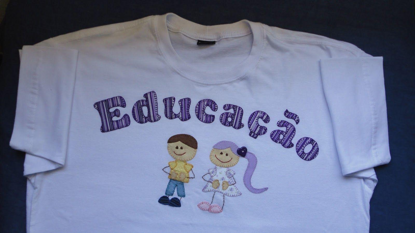 228a59f87f Resultado de imagem para frases para educação infantil em camisetas ...