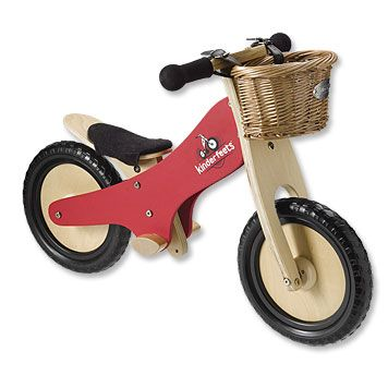 This award-winning wooden toddler balance bike is designed to support and encourage your toddler with the transition to a pedal bicycle, skipping the delay of training wheels. The makers of this eco-friendly bike partner with Trees for the Future to plant one tree for every bike sold.