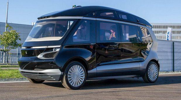 Z Shuttle Autonomous Electric Minibus