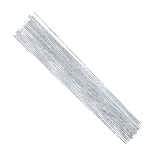 60 feet per Bundle Lengths in 12 inch 30.5cm 118.3m 24 Gauge White Cotton Covered Floral Wire