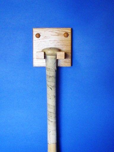 Baseball Bat Holder Vertical