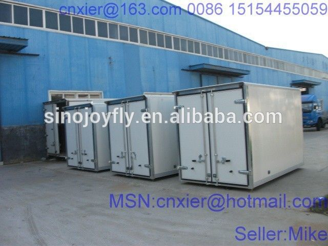 eec22b44b2 ckd panels for refrigerated truck bodies small cargo trucks hook stroke  lift mobile food trailer
