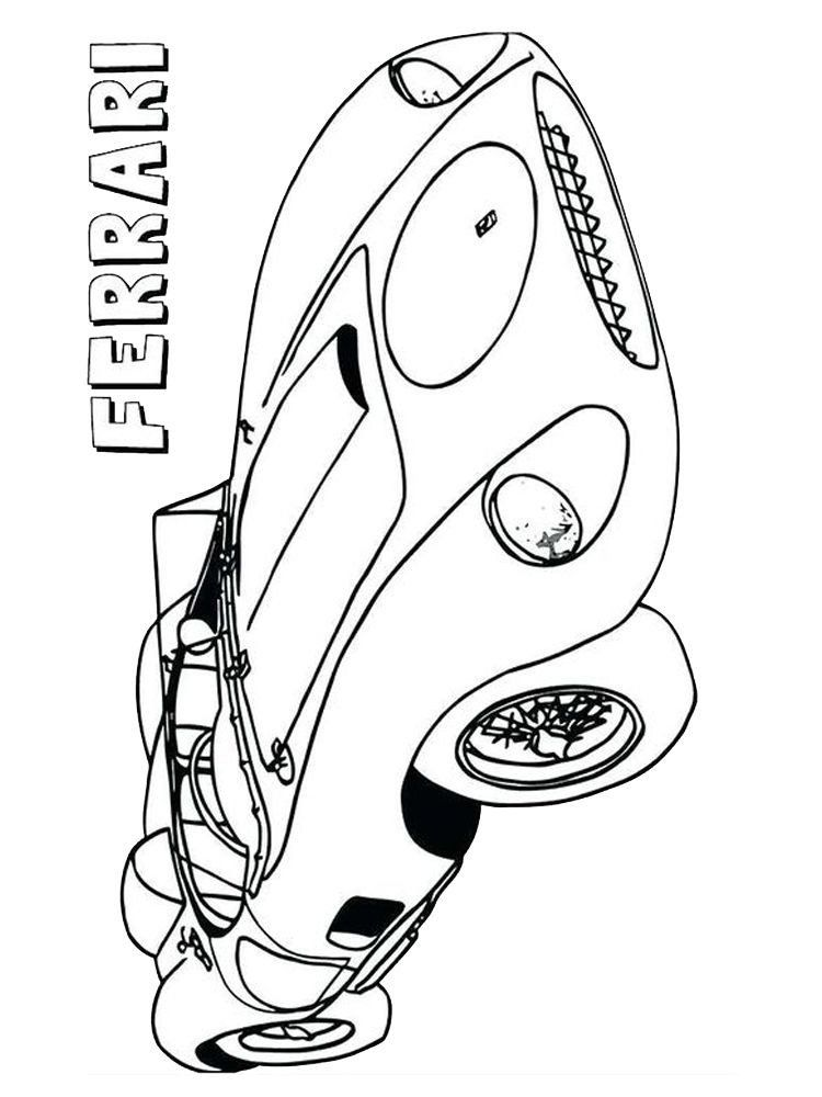 Sports Car Coloring Pages Free Printable Ferrari Coloring Pages In 2020 Cars Coloring Pages Mermaid Coloring Book Coloring Pages To Print