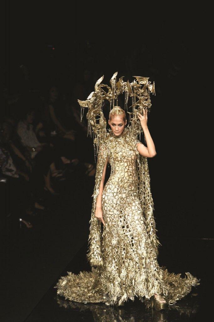 gold Tex Saverio haute couture 25 | Marie Antoinette Fete ...
