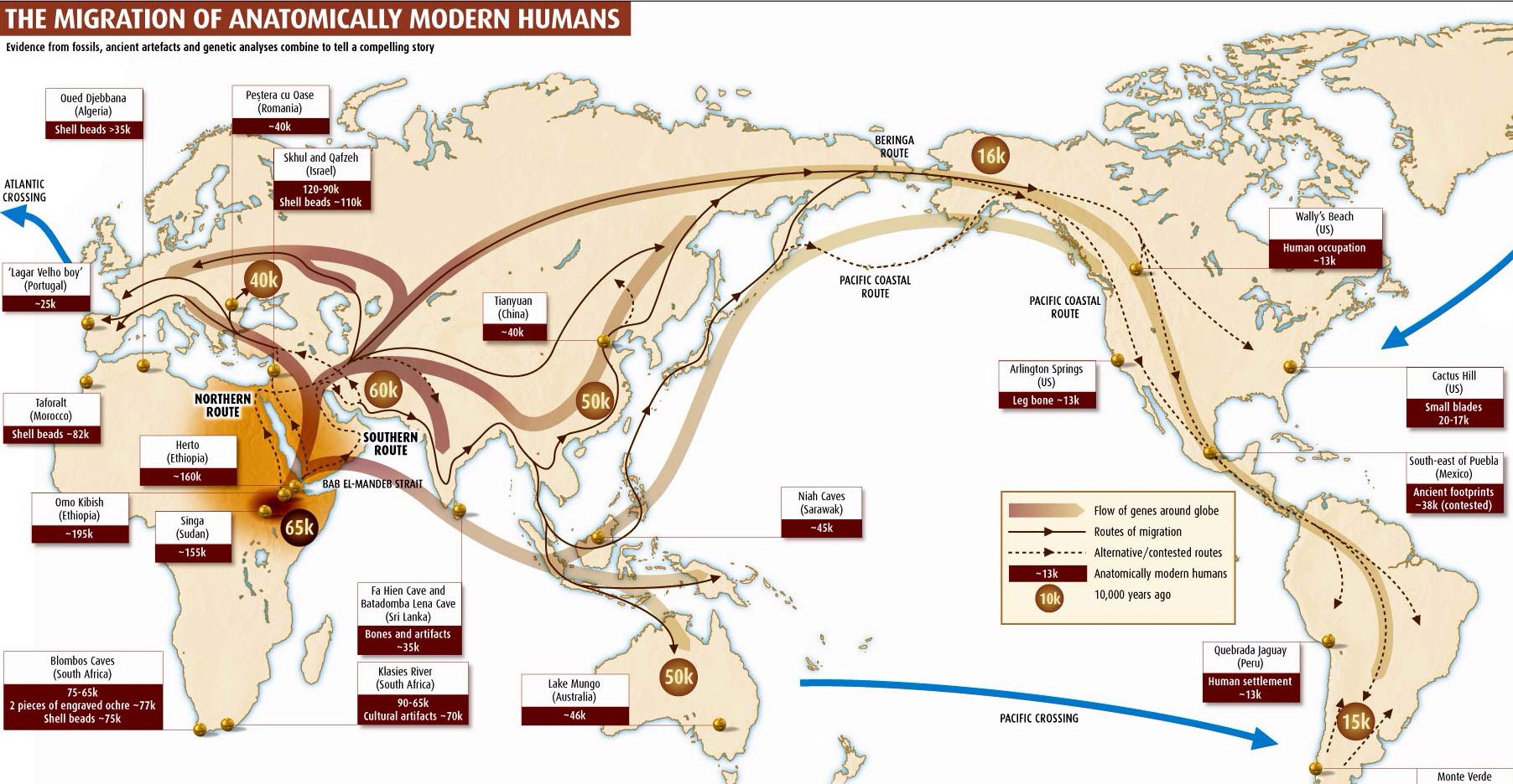 human migration maps history map evolution
