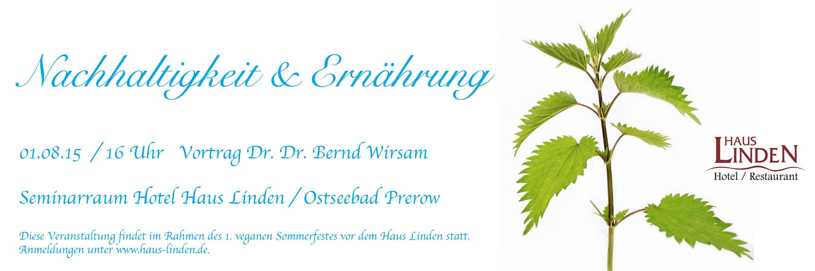 Vortrag Von Dr Dr Bernd Wirsam Beim 1 Veganen Sommerfest In Prerow Prerow Sommerfest Seminarraum