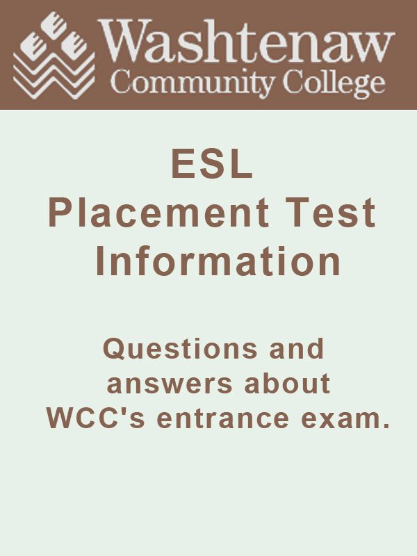Wcc Student Connection Placement Testing Math Methods Writing Skills Entrance Exam