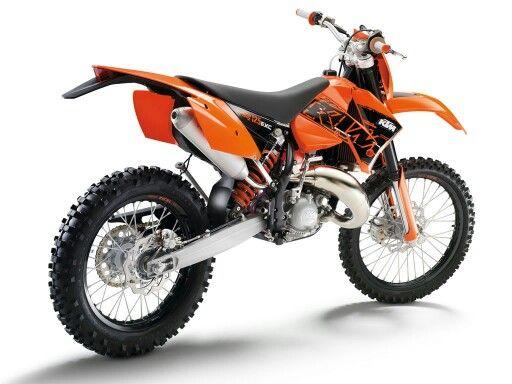 Ktm 125exc Motorrad