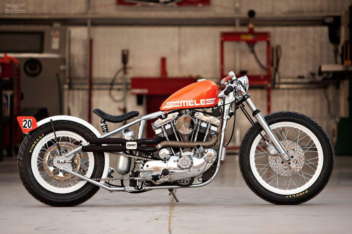 1979 HarleyDavidson Sportster Mele By DP Customs