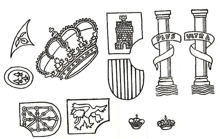 Escudo Espana Constitucion Para Ninos Dia De La Constitucion