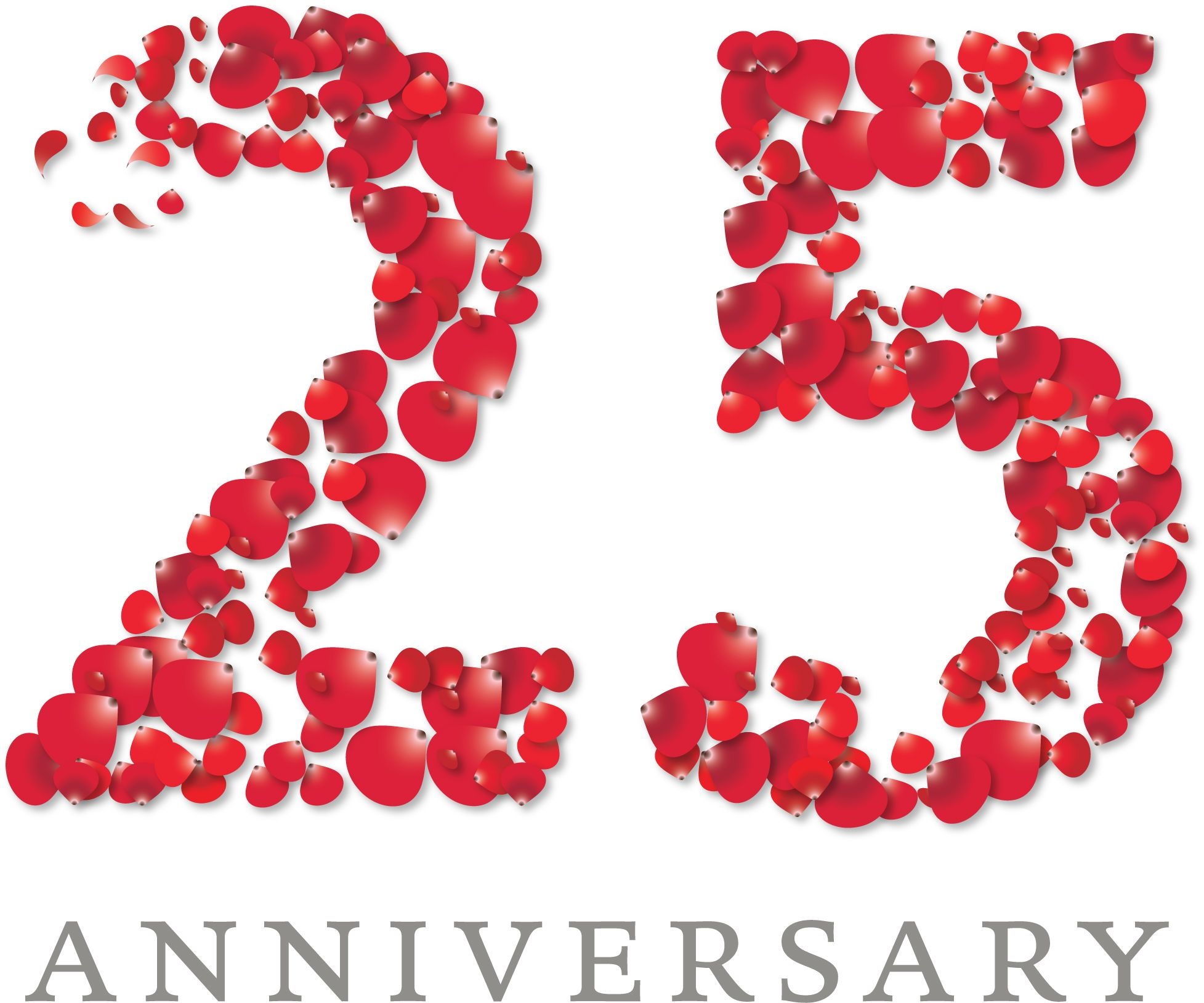 25th Anniversary Logo | Graphic Design Inspiration by MartinaLeo ...