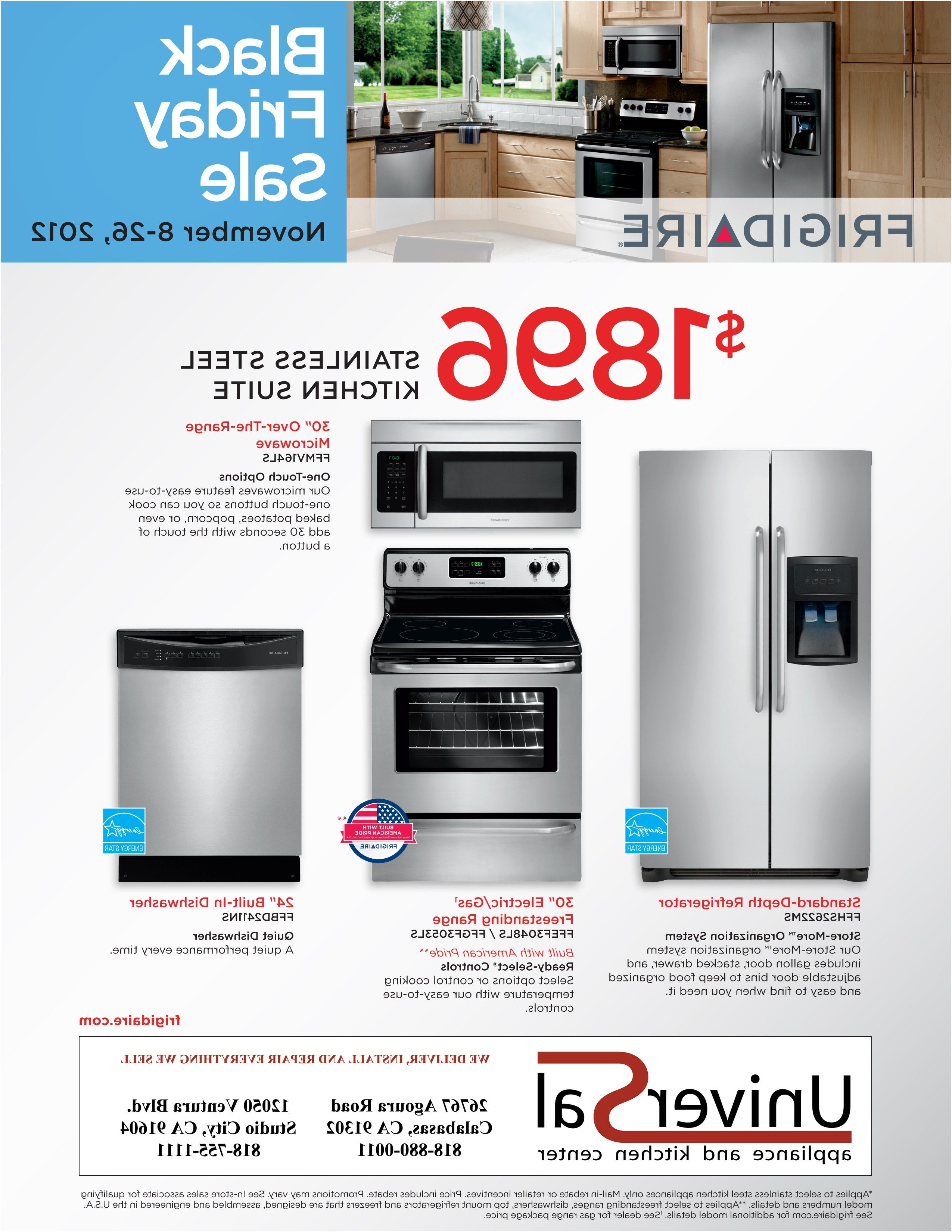 Awesome Kitchen Appliance Package Sale