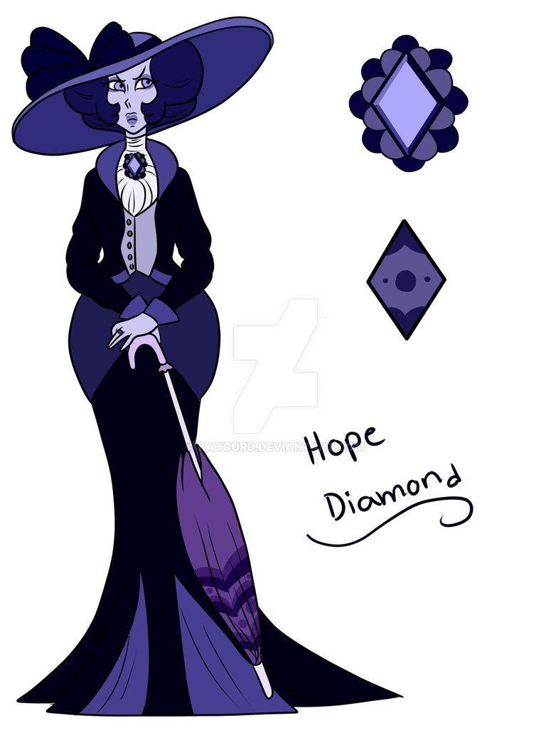 Su Oc Hope Diamond By Katourd Oc Steven Universe Steven