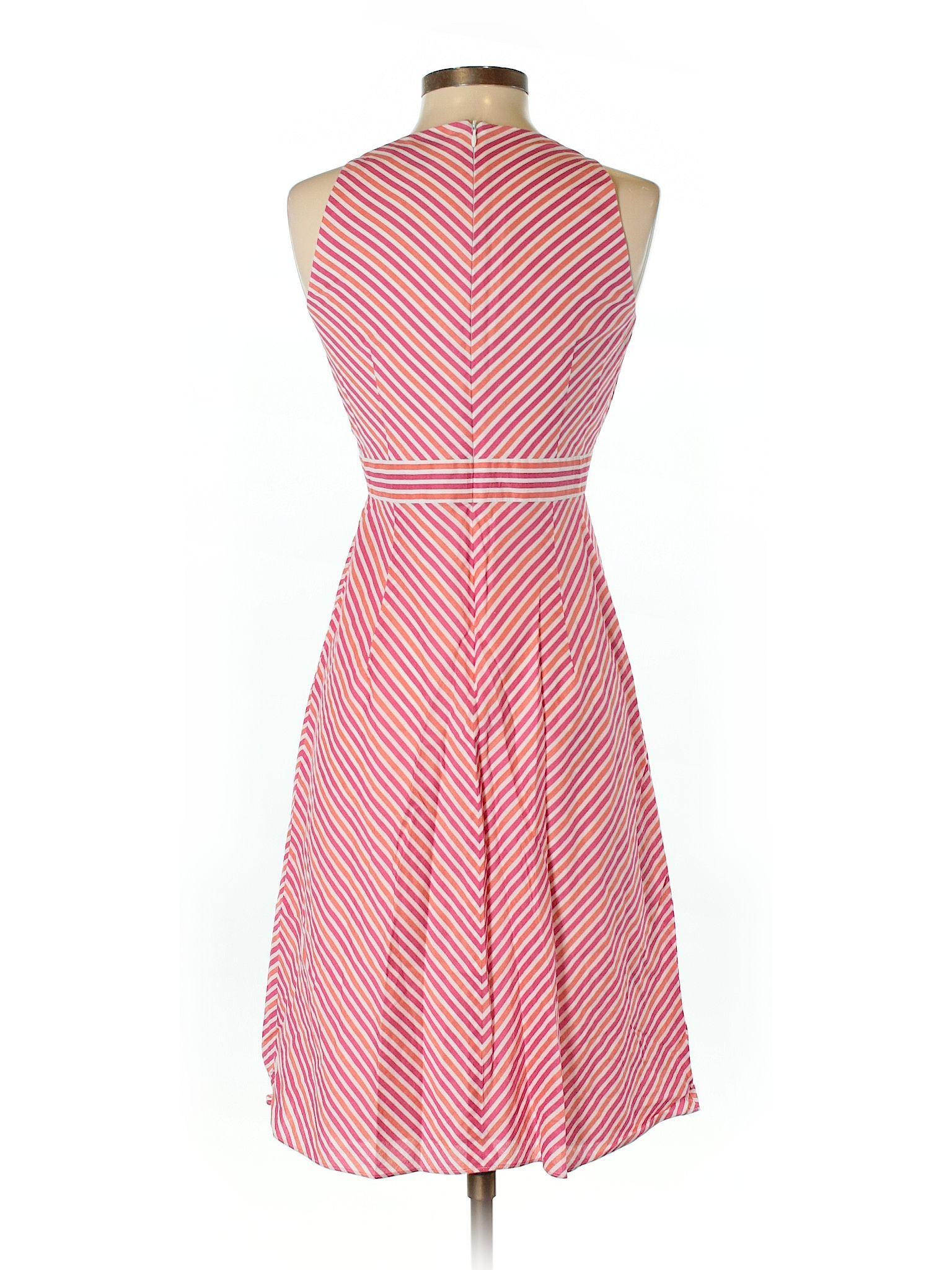 Ann Taylor Casual Dress: Size 2.00 Pink Women\'s Dresses - $14.99