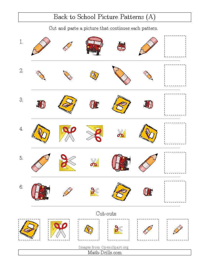 Updated 20150811 Back to School