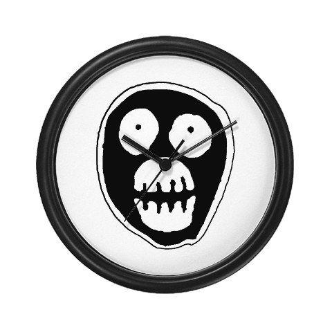 The Mighty Boosh Wall Clock Nerd Ness The Mighty Boosh