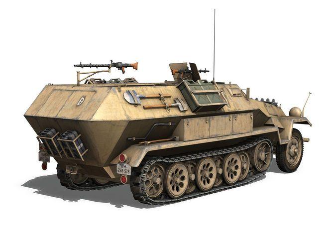 SD KFZ 251 7 - Ausf B - Hanomag Halftruck ...