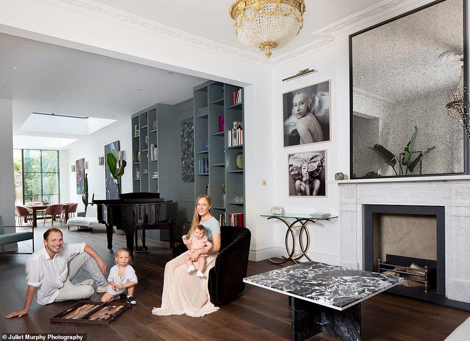 How One Couple Transformed A Hideous Run Down Victorian House Victorian Terrace Interior Living Room Victorian House Open Living Room Design