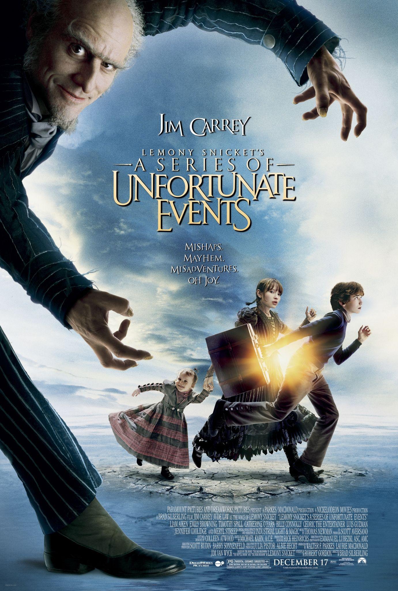Les Desastreuses Aventures Des Orphelins Baudelaire Lemony Snicket S A Series Of Unfortunate Events Brad Siberling 2 Film Fantastik Filmler Film Afisleri