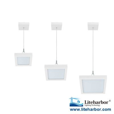 Liteharbor Die Cast Aluminum Square Led Suspended Ceiling Light Ceiling Lights Suspended Ceiling Lighting Manufacturers