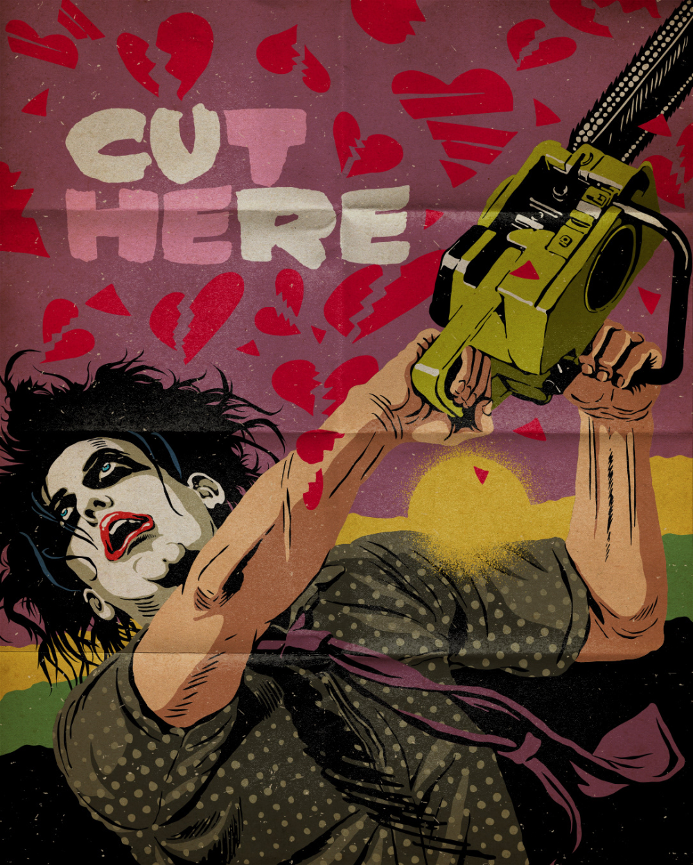 Tales From The Smith Part 2 The Reawakening On Behance In 2020 Punk Poster The Cure Horror Punk