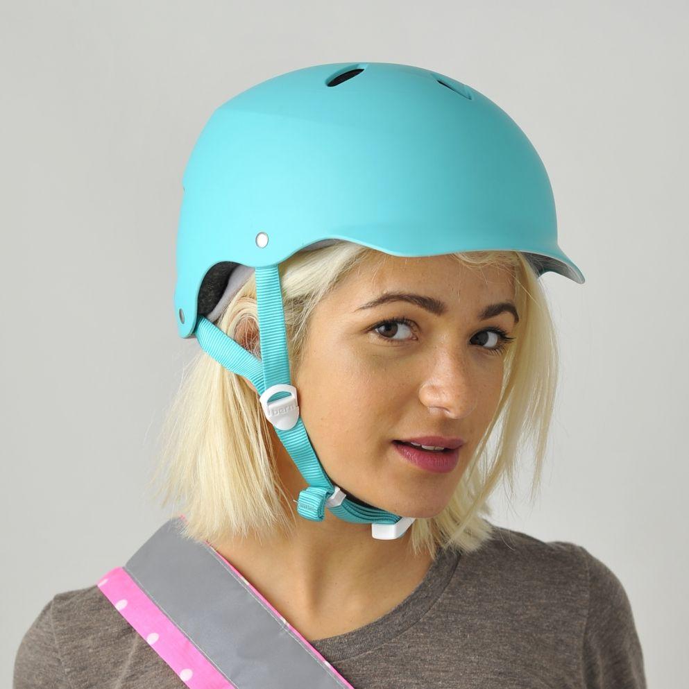 Bern Lenox Turquoise Cycling Helmet For Women Cyclechic