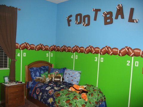 Boys Rooms Sports Decorating Ideas | Bedrooms Bedroom Decor Ideas