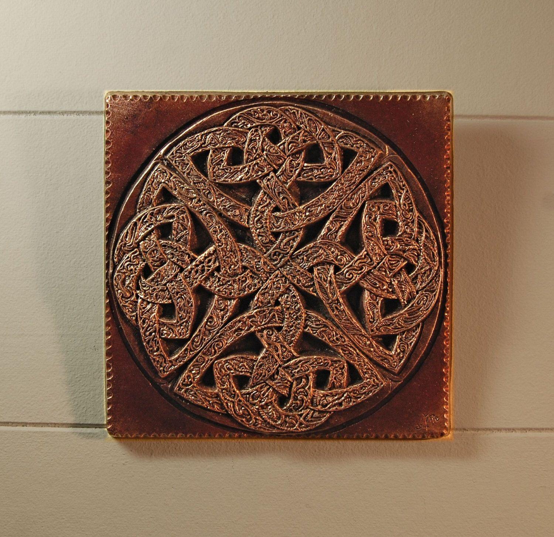 Celtic knot art garden gifts outdoor sculpture ireland