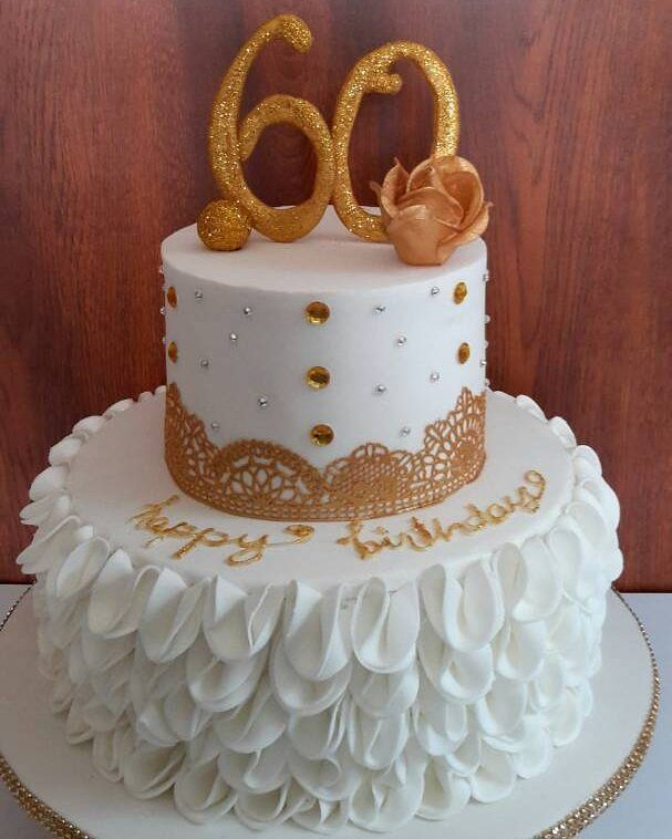 60th Birthday Cake Ideas Design Diy For Mom