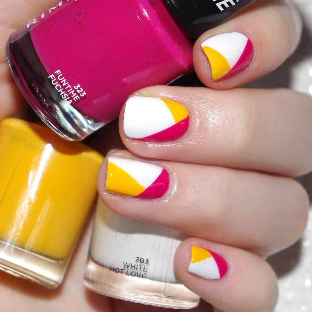Honey Yellow Nail Polish: Color Block With Rimmel