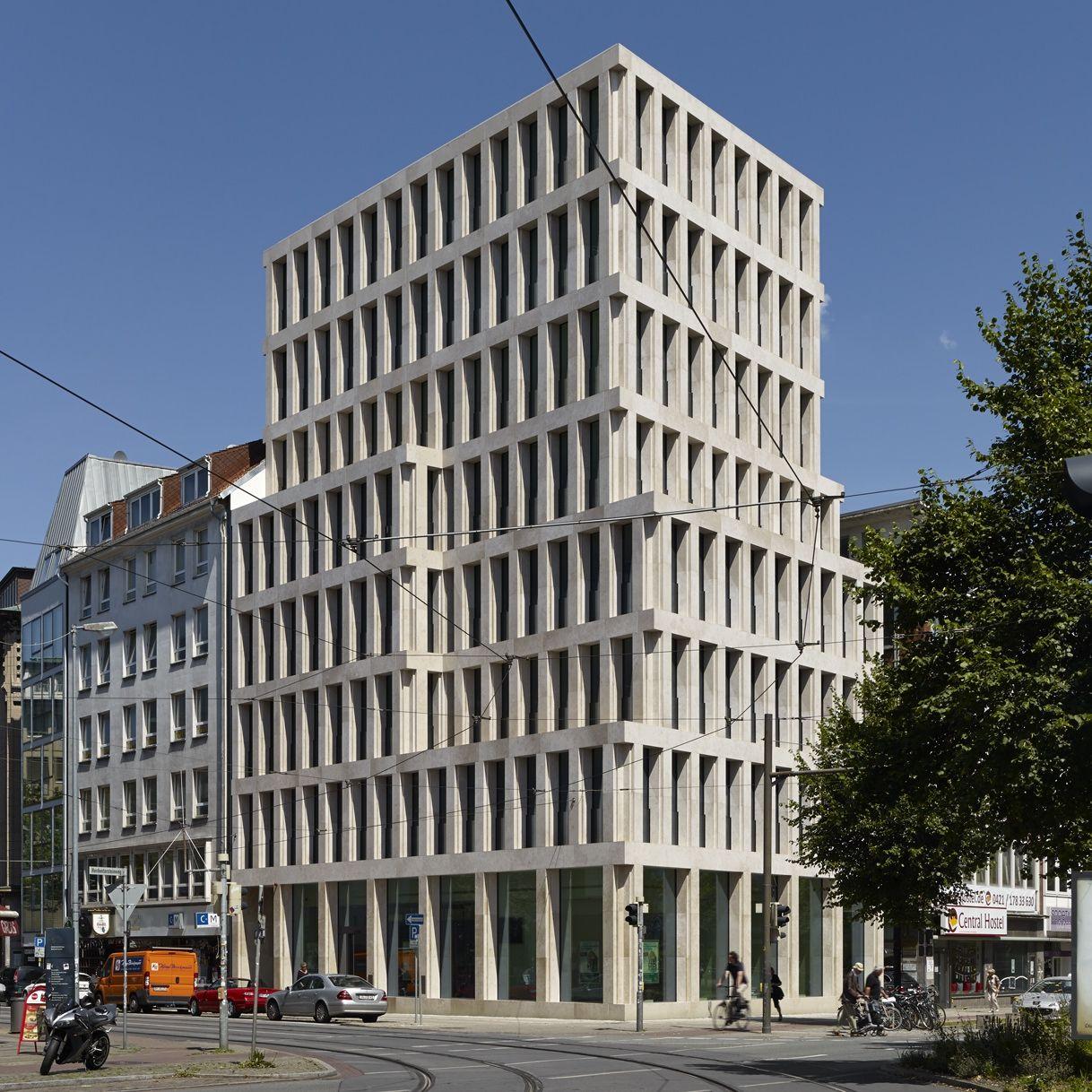 architekt max dudler baut in bremen stadthaus bahnhofstra e stadthaus bremen und architekten. Black Bedroom Furniture Sets. Home Design Ideas