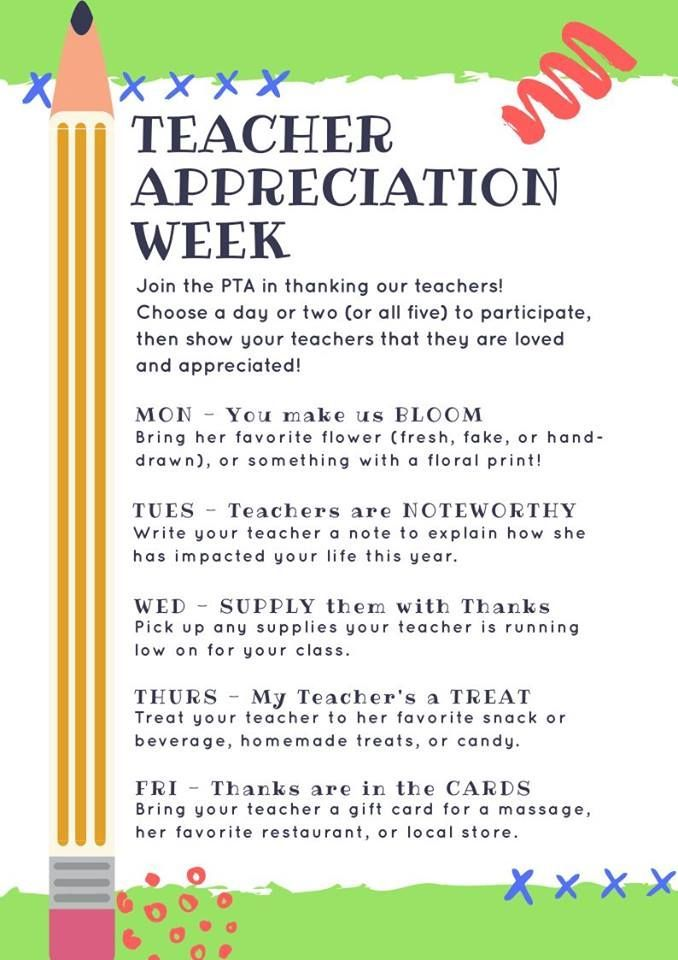 Kyleigh Jacksonu0027s teacher appreciation letter PTA Ideas - copy certificate of appreciation for teachers