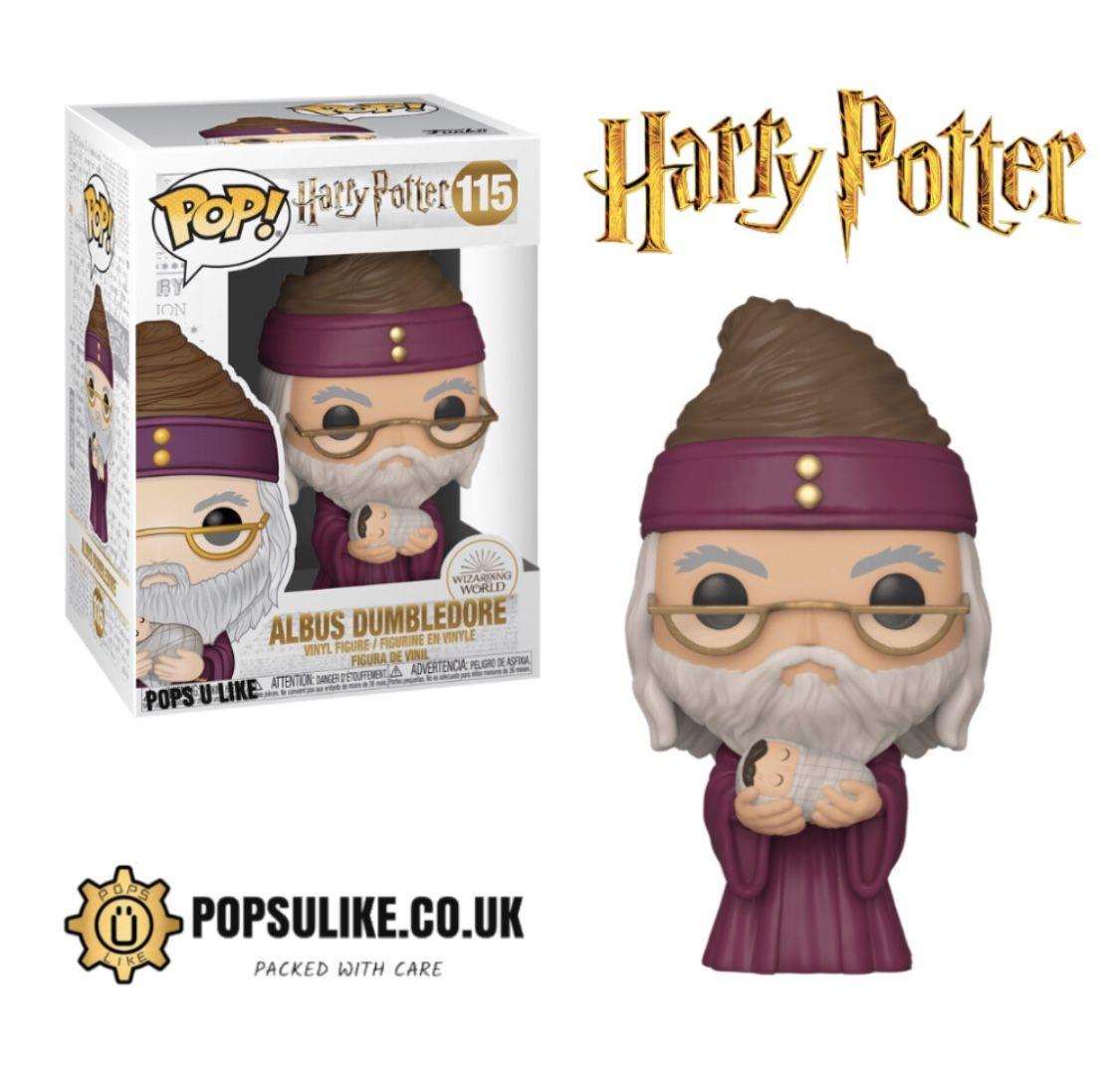 Dumbledore With Baby Funko Pop Vinyl Harry Potter