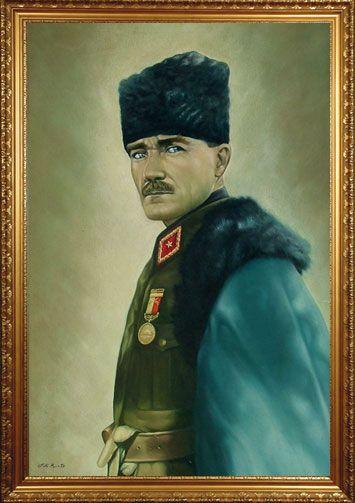 Ataturk Yagli Boya Tablolari Naturmort Portre Yagli Boya Resim