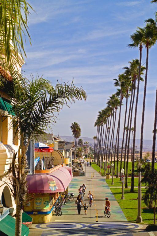 Balboa End Boardwalk Newport Beach