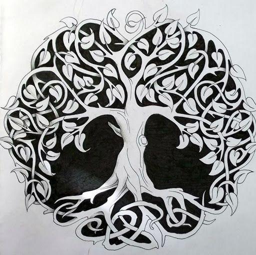 pingl par viny sur tatouages arbre celtique arbre de. Black Bedroom Furniture Sets. Home Design Ideas