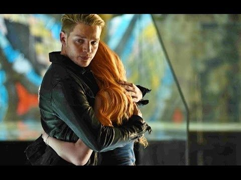 Clary and Jace's First Kiss Scene HD (Shadowhunters) [1x07 ...
