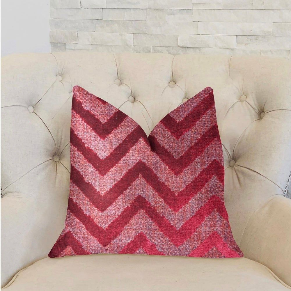 Online Shopping  Bedding Furniture Electronics Jewelry Clothing  more Plutus Valentina Red Luxury Decorative Throw Pillow Rectangle  double sided 20 x 26 standard  Large...