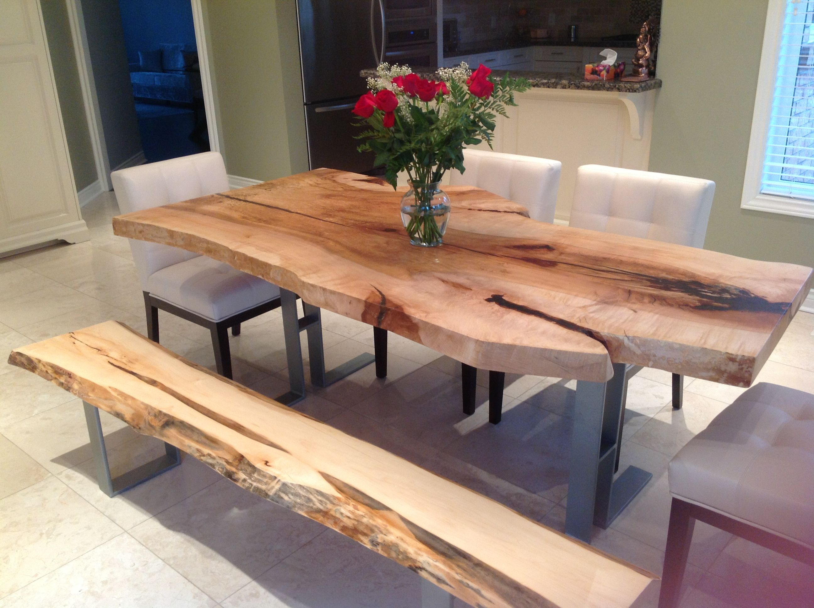 Live Edge Dining Table Inspiration For Your Dining Room | Dining Room  Design, Dining Room Table And Black Wooden Chairs